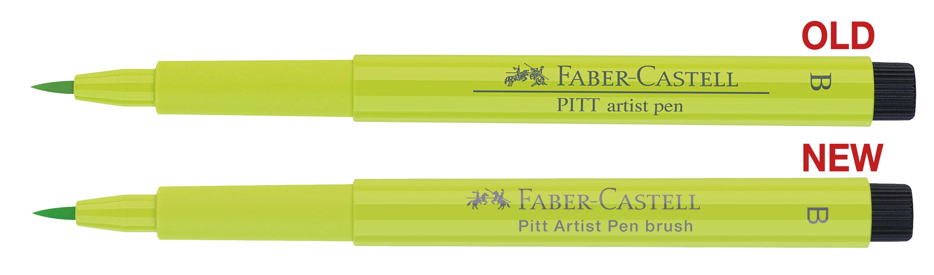 Pitt Artist Pen old v new