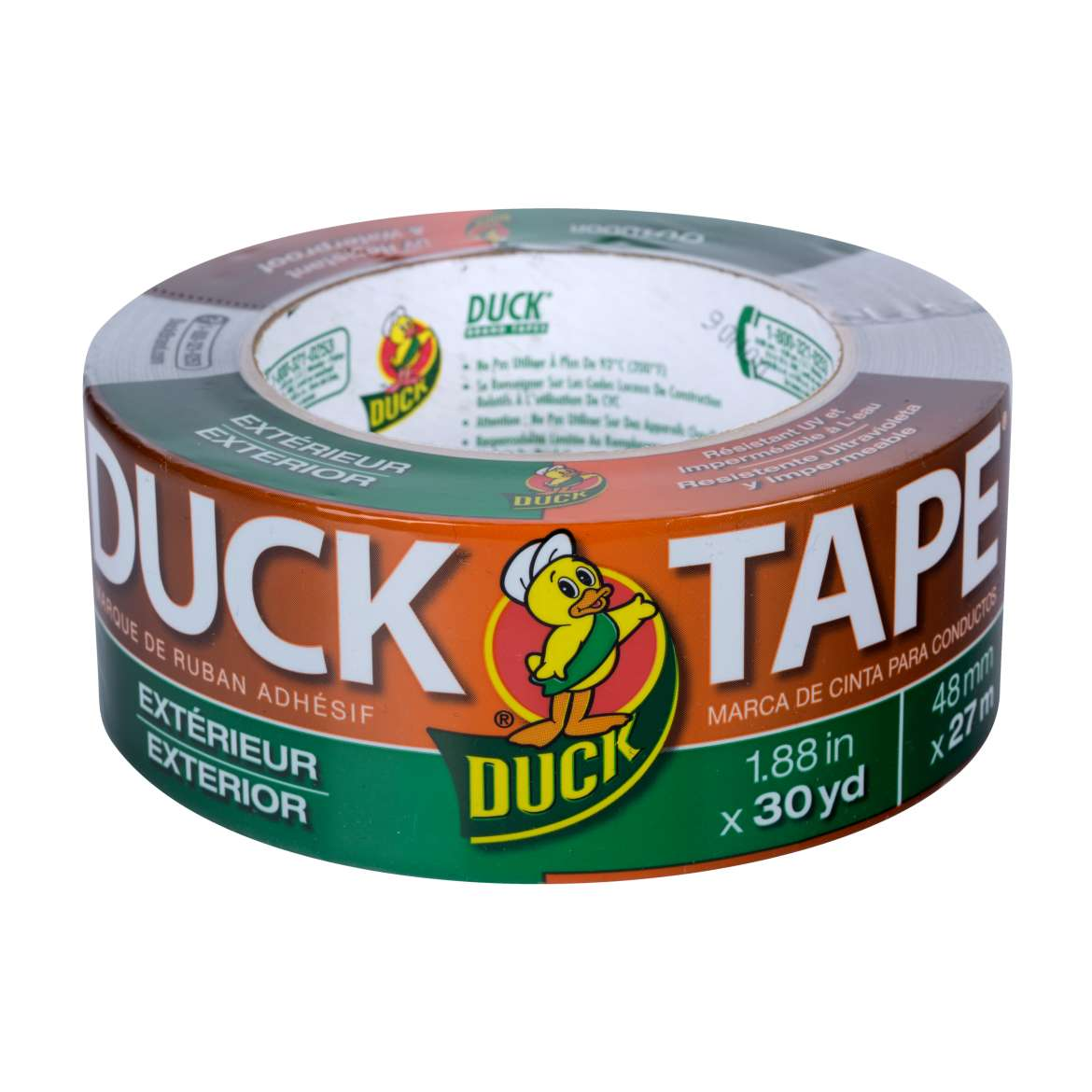 Outdoor Duck Tape® Brand Duct Tape - Silver, 1.88 in. x 30 yd. Image