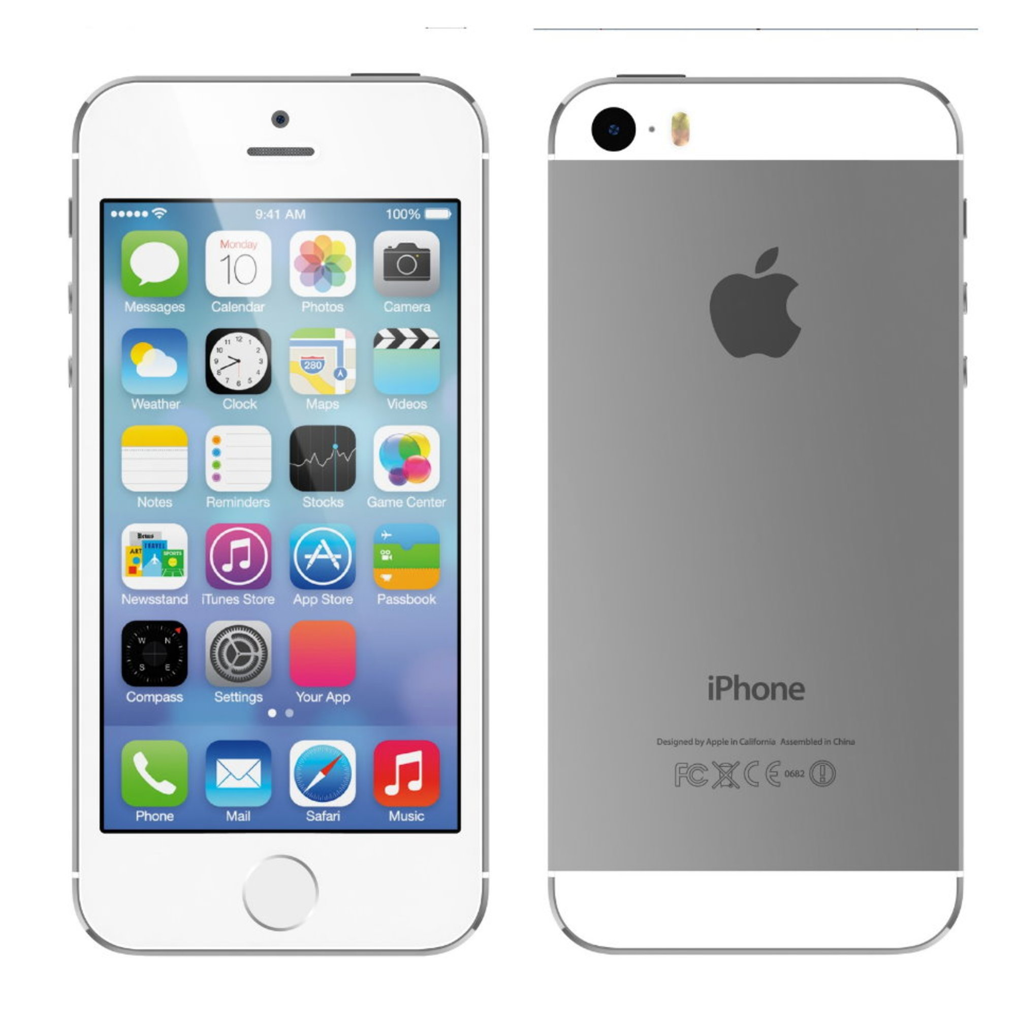 apple iphone 5s 16gb unlocked gsm lte dualcore 8mp phone. Black Bedroom Furniture Sets. Home Design Ideas