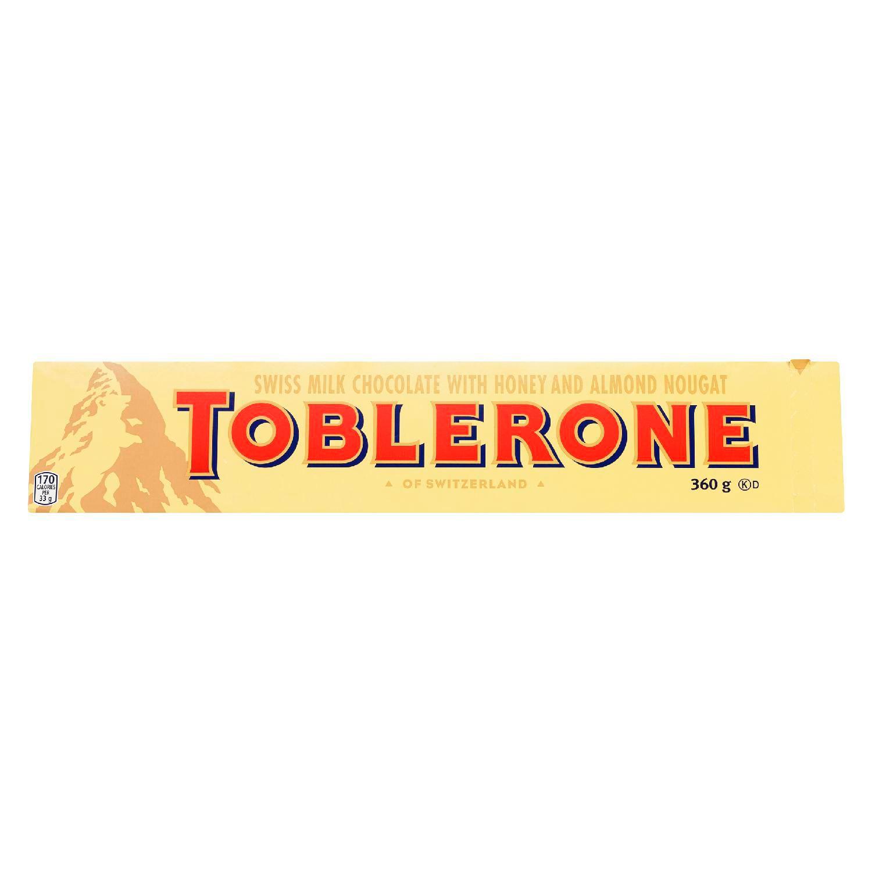 TOBLERONE  MILK 360 GRM