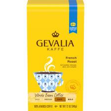 Gevalia French Roast Whole Beans Coffee, 12 oz Bag