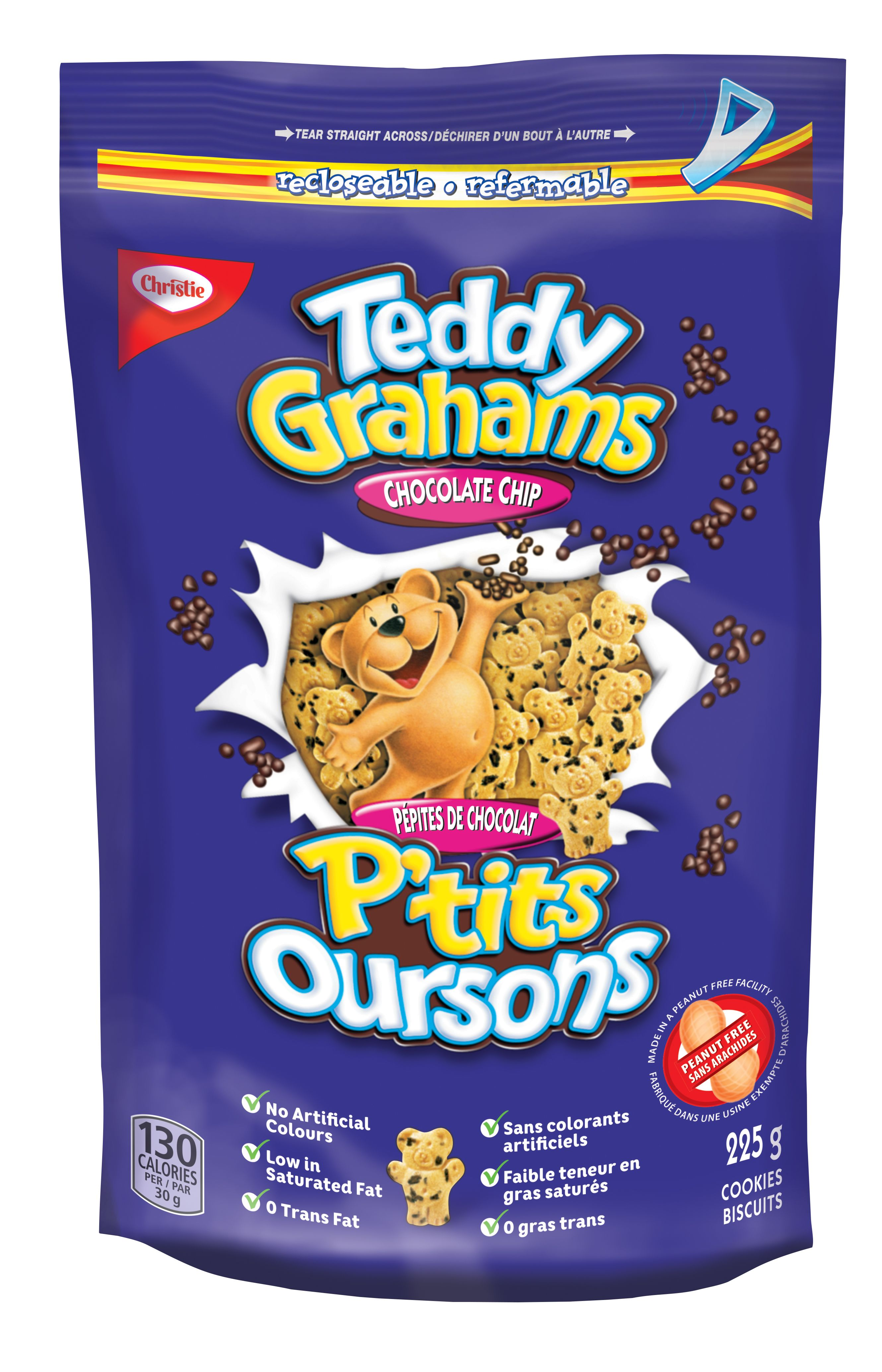 Teddy Grahams Chocolate Chip Cookies 225 G