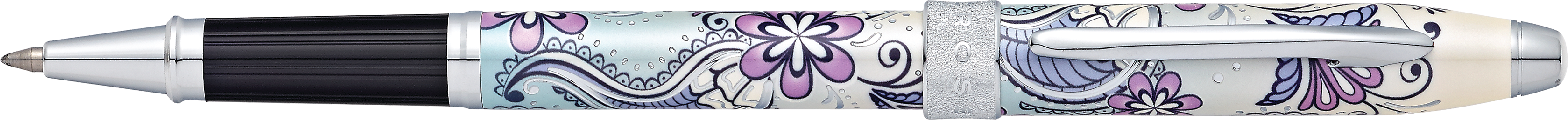 Botanica Purple Orchid Rollerball Pen