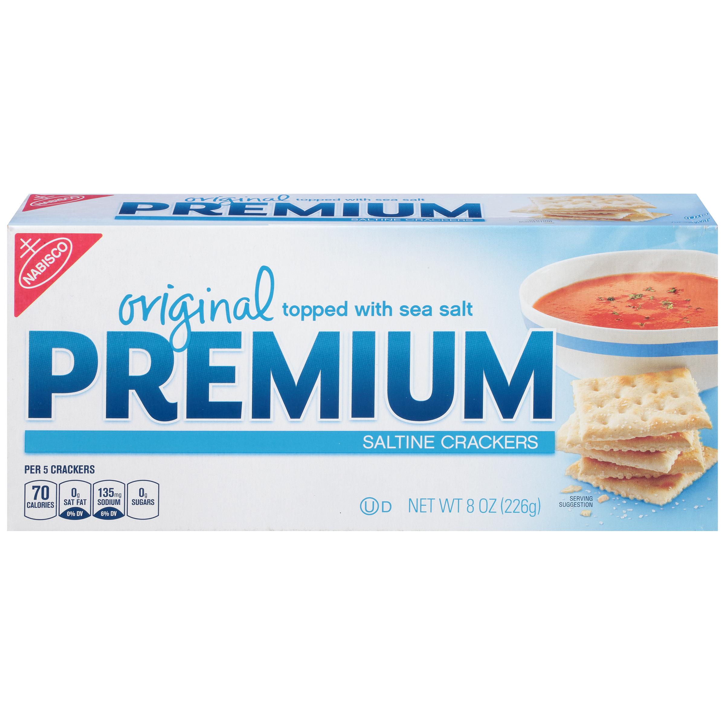 PREMIUM Original Crackers 8 oz