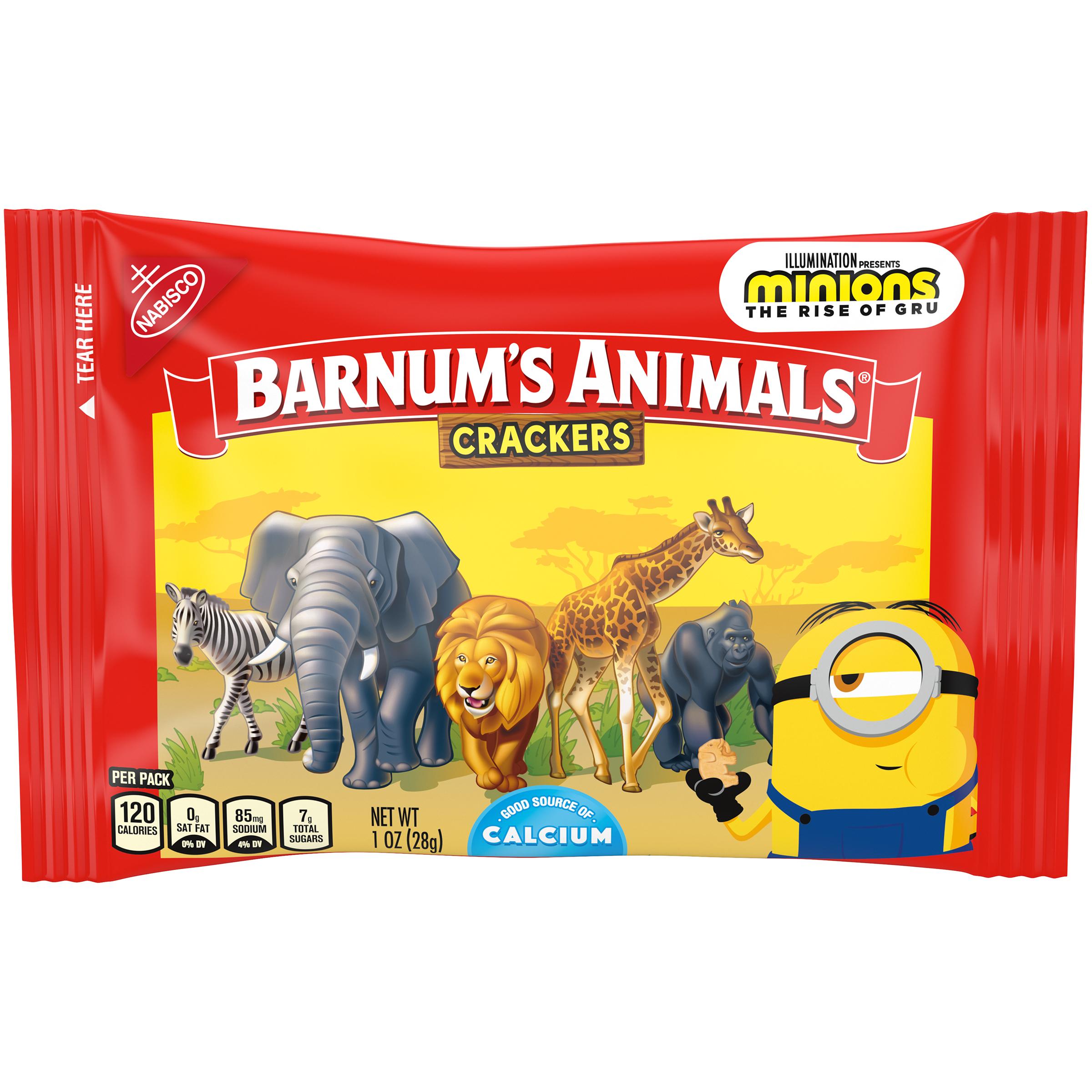 BARNUMS Zoo Animals Animal Crackers 1 oz