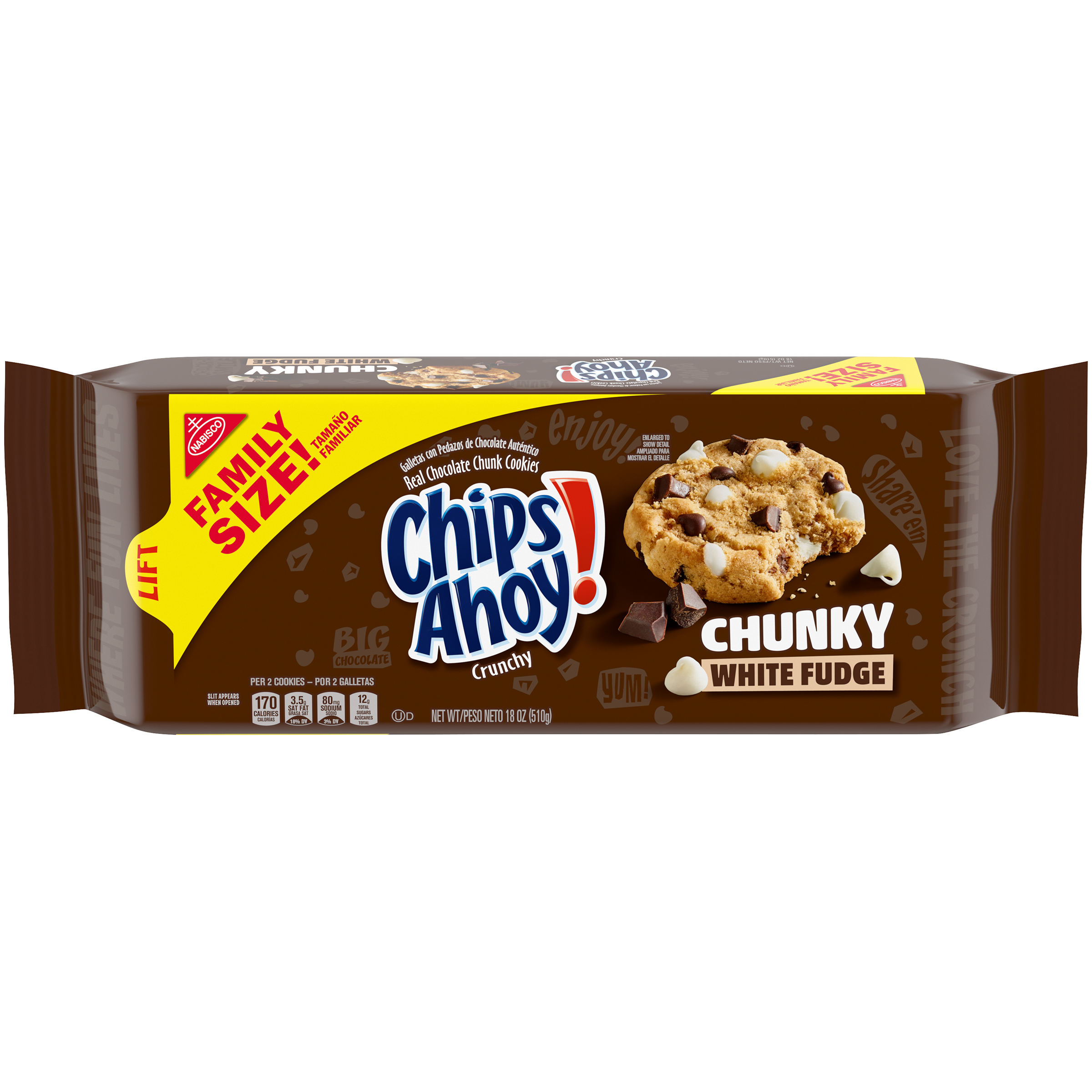 CHIPS AHOY! Chunky Cookies 18.0 Oz