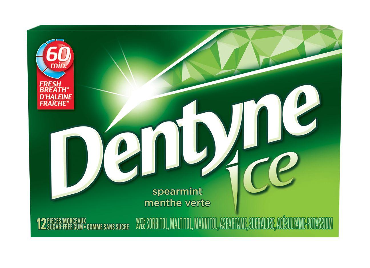 DENTYNE Ice MENTHE VERTE 12 1N