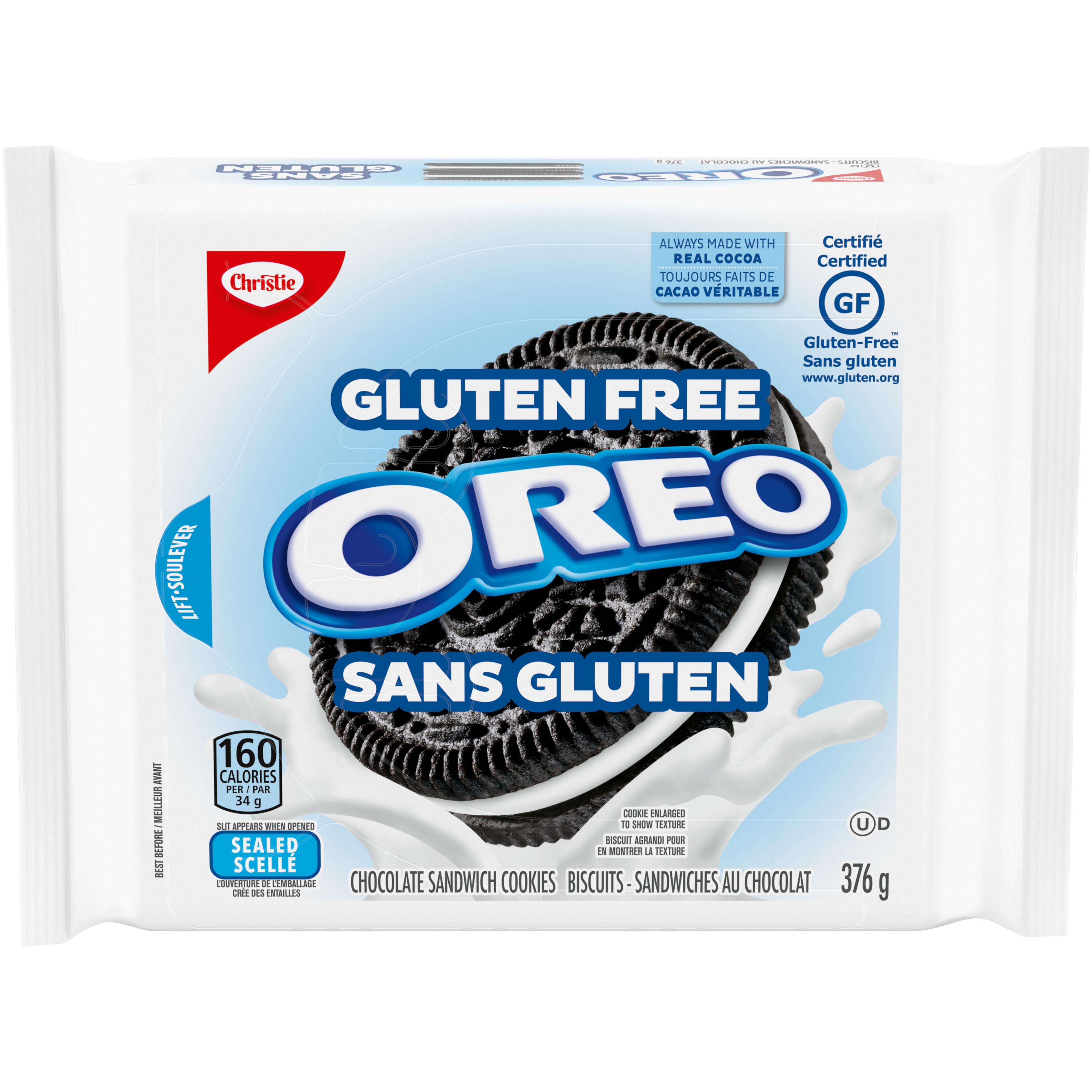 Christie Oreo Original Gluten Free Biscuits 376 G