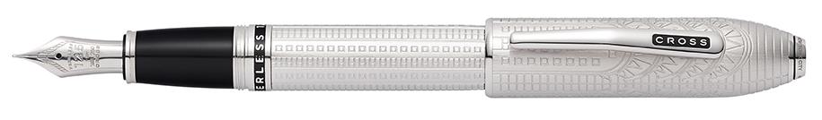 Peerless Special-Edition New York Platinum Plate Fountain Pen