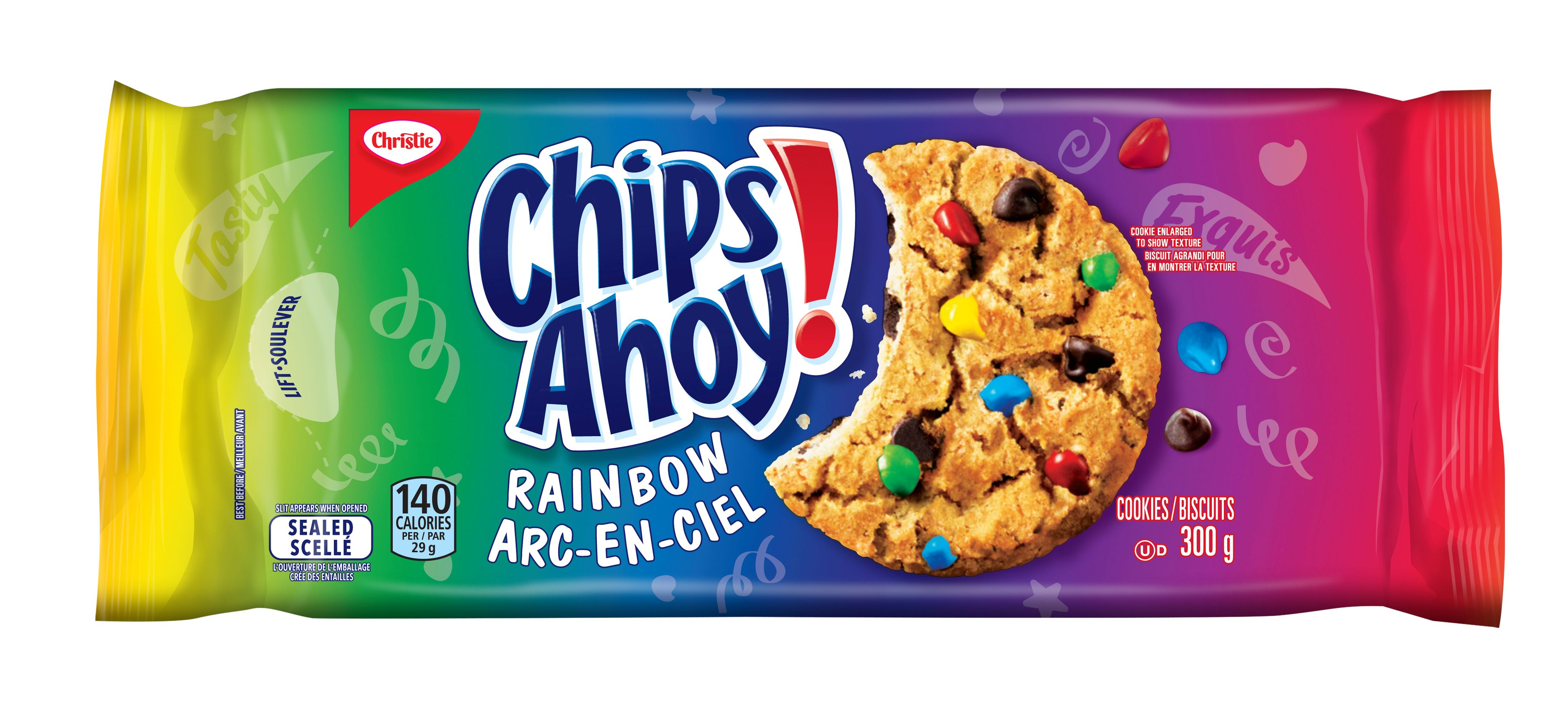 Chips Ahoy! Arc-En-Ciel Biscuits 300 G