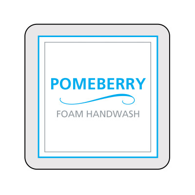 Dispenser Label - Pomeberry Foam Handwash