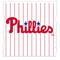 Swatch for MLB Licensed Duck Tape® Brand Duct Tape - Philadelphia Phillies, 1.88 in. x 10 yd.