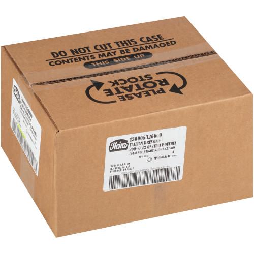 HEINZ Single Serve Italian Salad Dressing, 12 gr. Packets (Pack of 200)