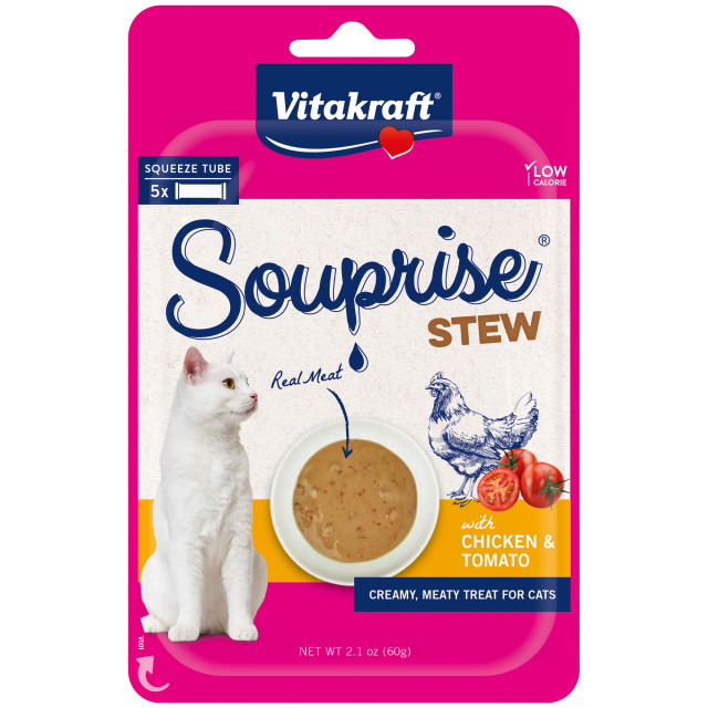 Product-Image showing Souprise® Stew, Chicken & Tomato, 5 Pack