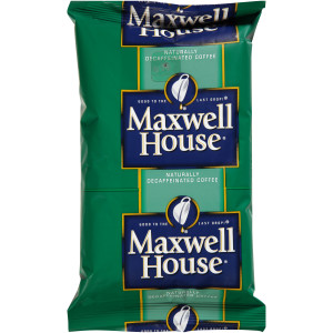 Maxwell House Ground Coffee - Decaf, 8.75 oz. image