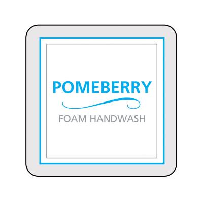 Dispenser Label - Pomeberry Foam Handwash