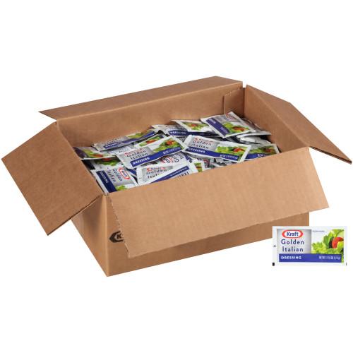 KRAFT Single Serve Golden Italian Salad Dressing, 0.4375 oz. Packets (Pack of 200)