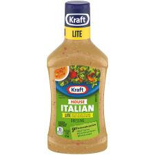 Kraft House Italian Lite Dressing 16 fl oz Bottle