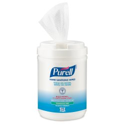 Purell Hand Sanitizing Wipe 175 Count Ethyl Alcohol Canister, 9031-06 - Case of 6