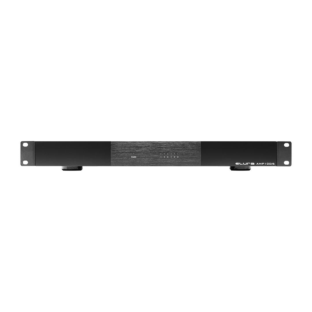 6Ch 100W Amplifier 1U Wave Electronics
