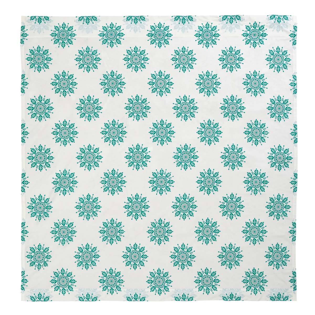 Mariposa Turquoise Shower Curtain 72x72