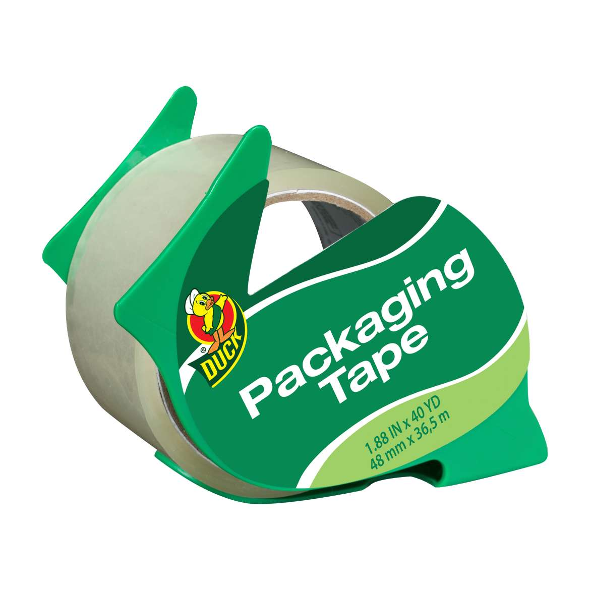 Duck® Brand Standard Packaging Tape With Dispenser - Clear, 1.88 in. x 40 yd. Image