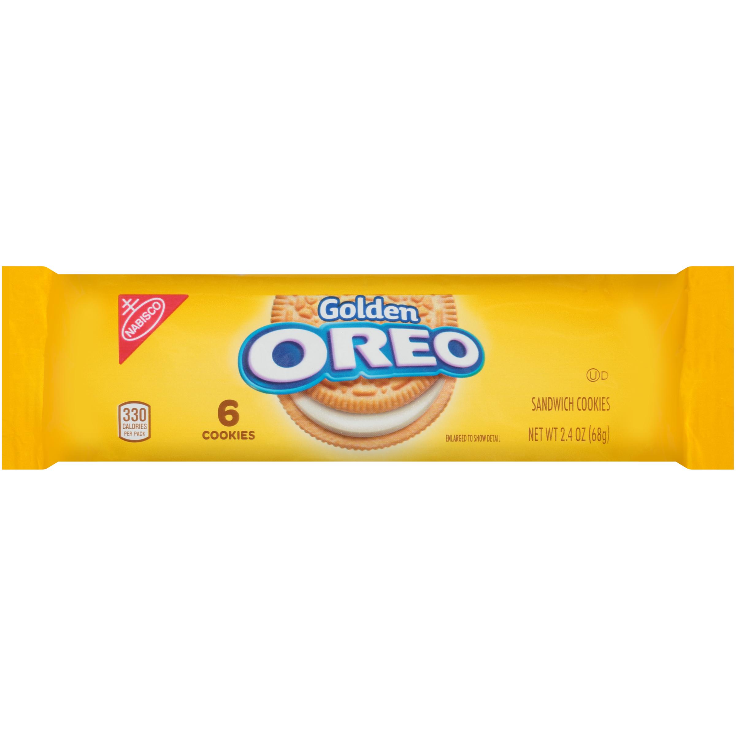 OREO Golden Oreo Cookies-Convenience Pack 2.4 oz