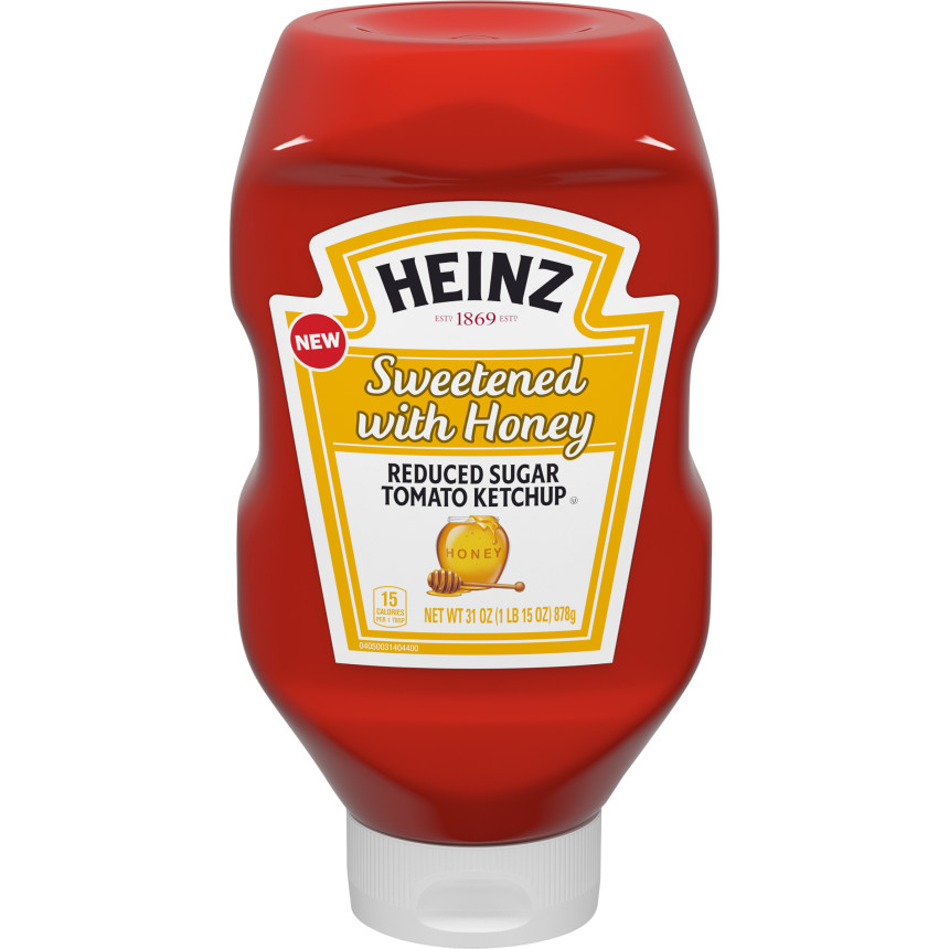 Heinz Sweetened with Honey Ketchup (31 oz.)