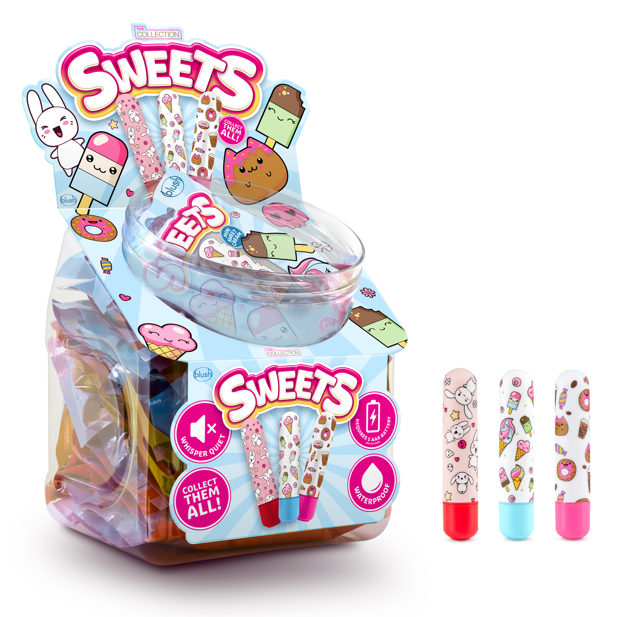 The Collection - Sweets Bullet Fishbowl - 36 Pieces