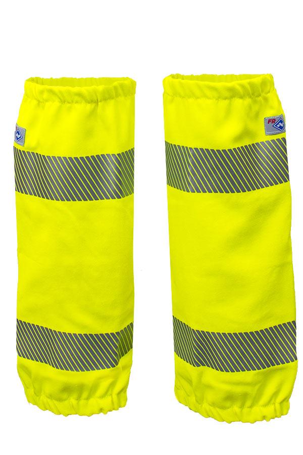 VIZABLE® FR Hi-Vis Leg Gaiters - Class E - Fire Resistant