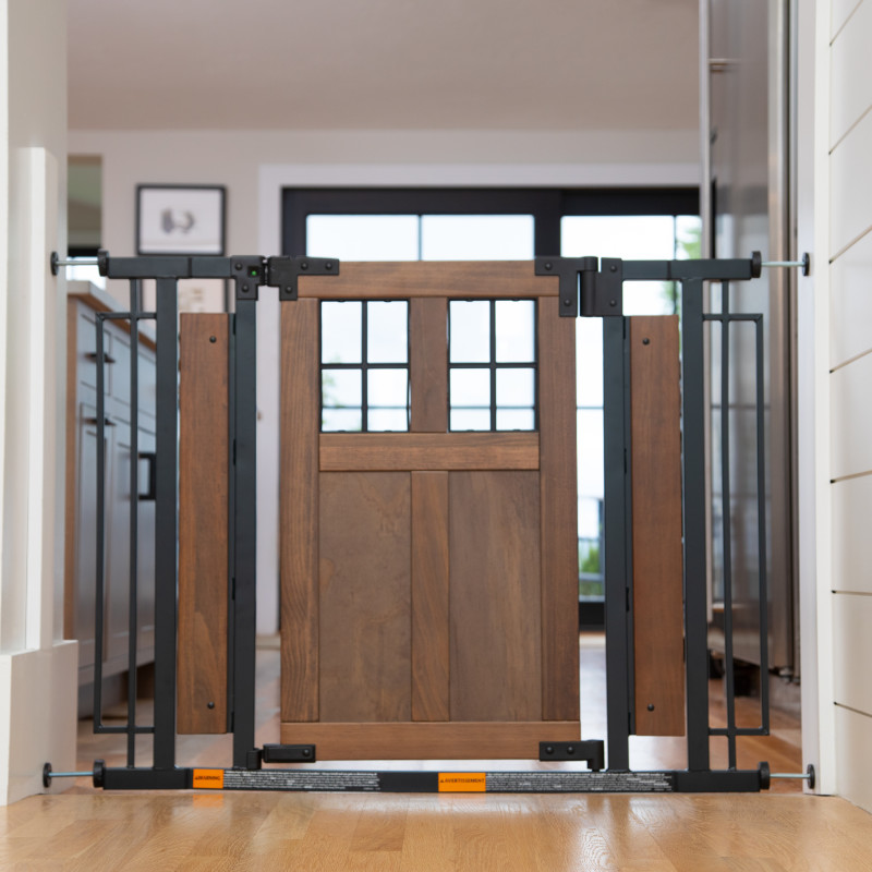 Barn Door Walk-Thru Gate (Farmhouse Collection) Lifestyle Photo