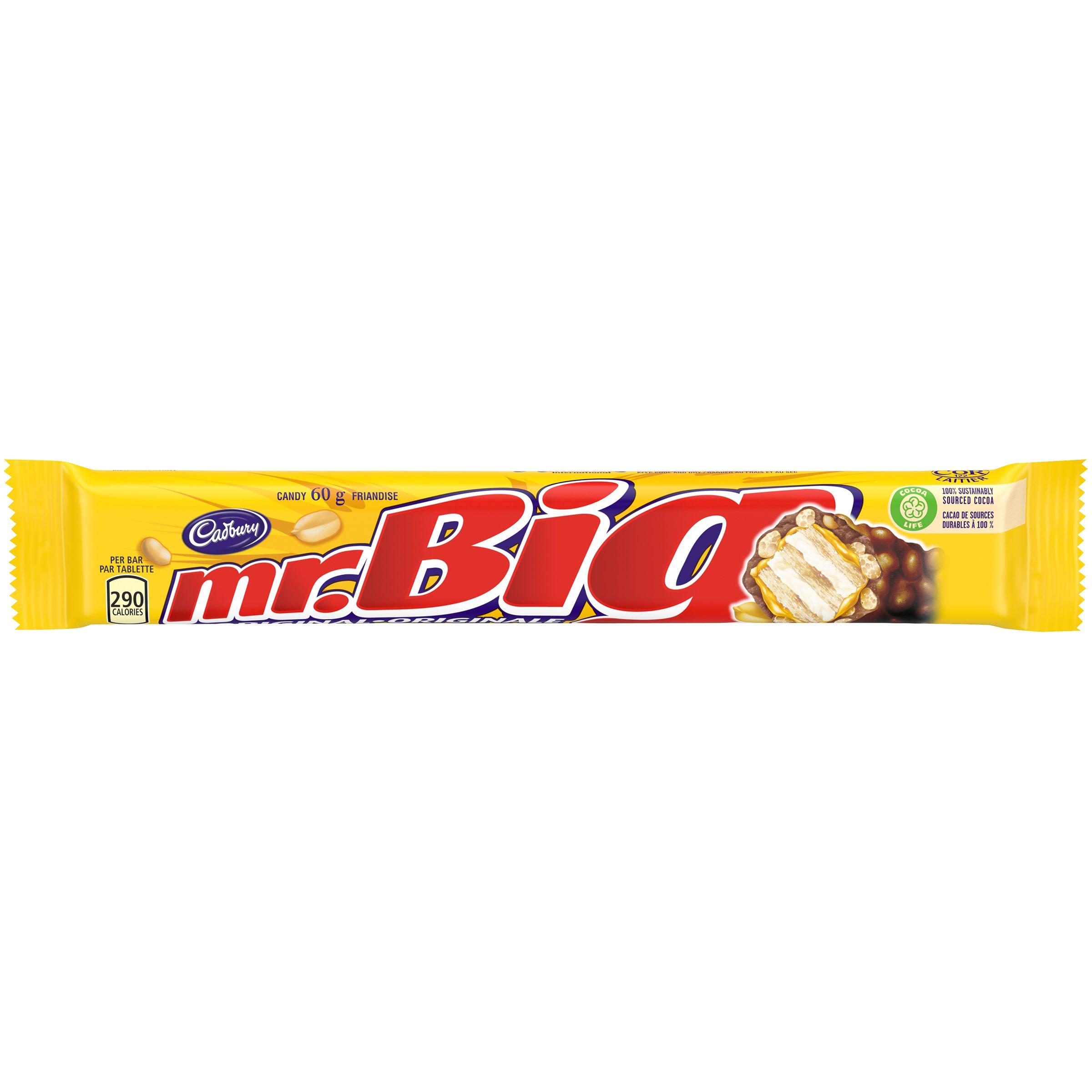 Mr Big Original Chocolate Bar 60.0 G