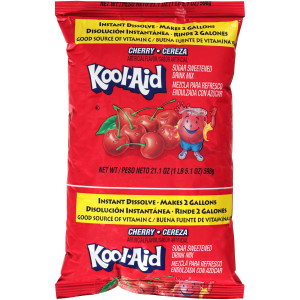 Kool-Aid Cherry Powdered Drink Mix, 21.1 oz. Pouch (Pack of 15) image