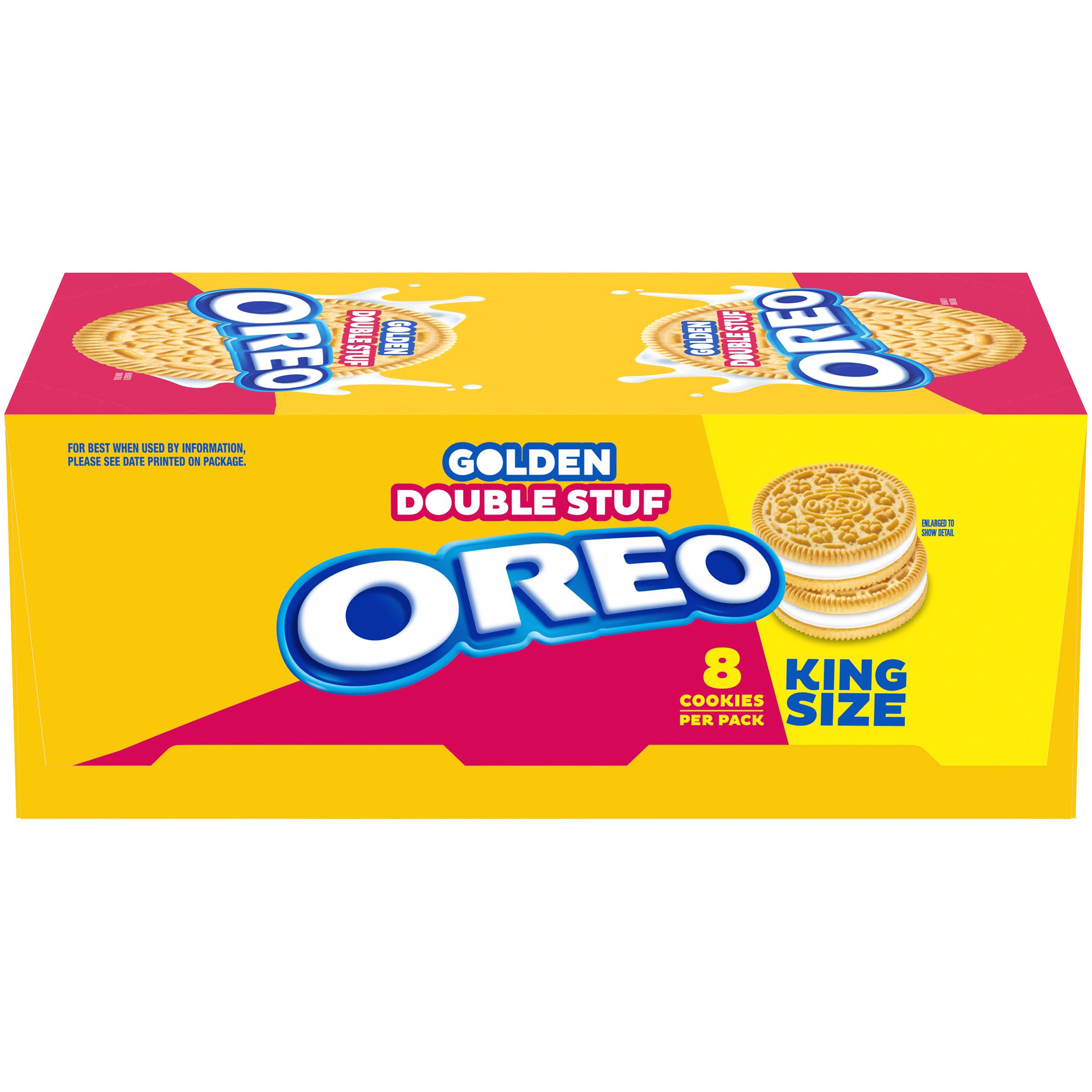 OREO Double Stuf Golden Oreo Cookies 40 oz