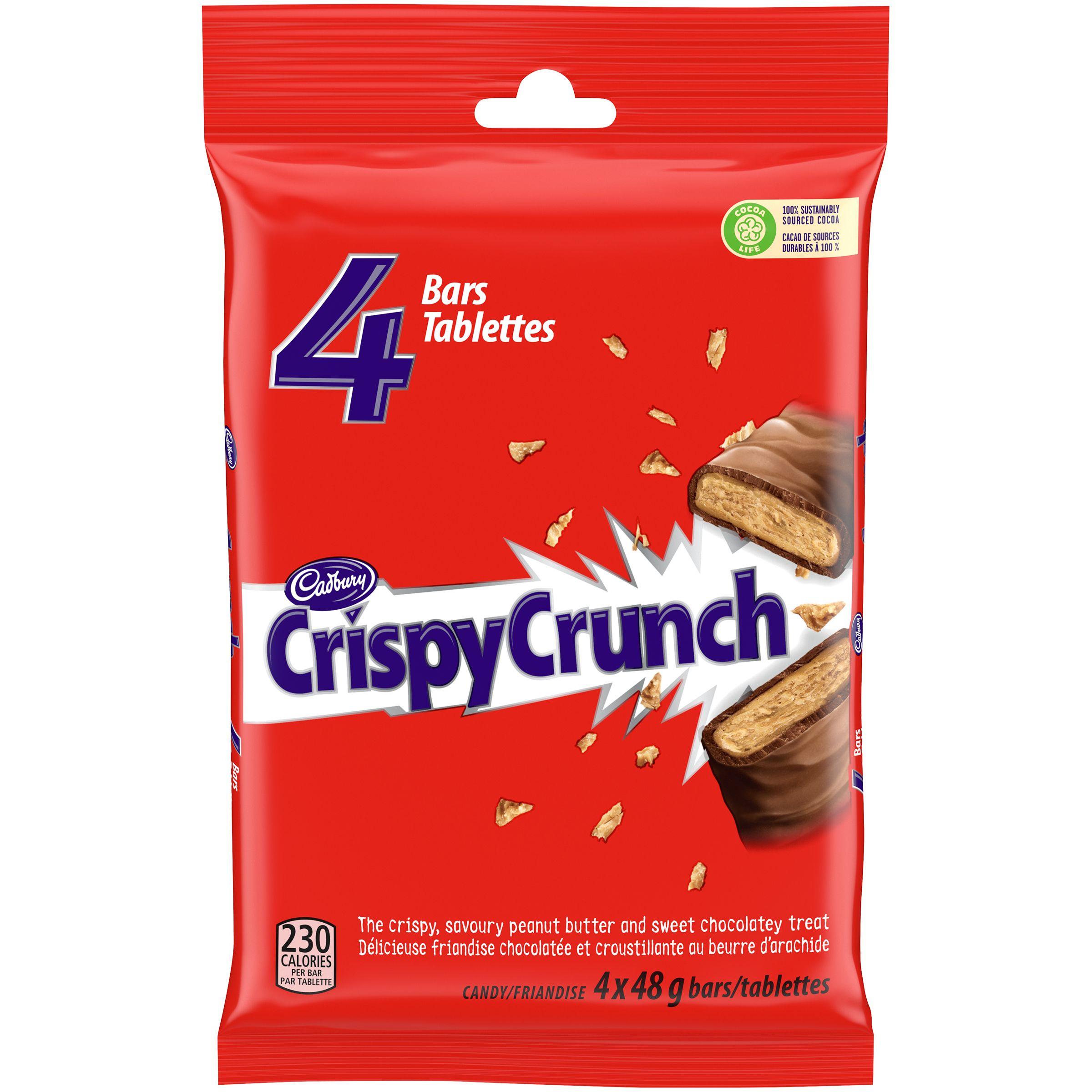 Crispy Crunch Peanut Butter Chocolate Bar 192.0 G