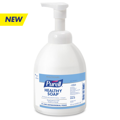 PURELL® Antimicrobial Foam Handwash with 2% CHG