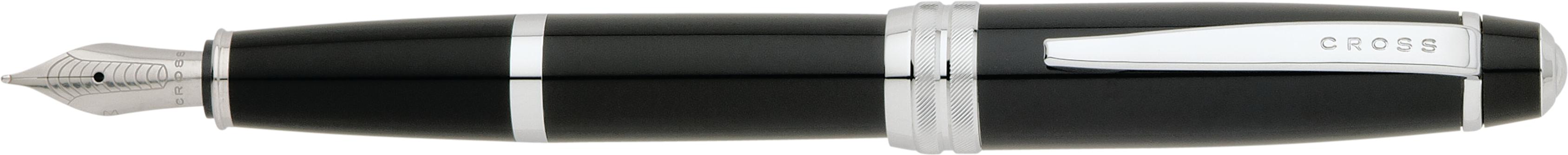 Bailey Black Lacquer Fountain Pen