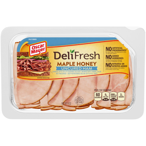 OSCAR MAYER Deli Fresh Maple Honey Ham 8 oz