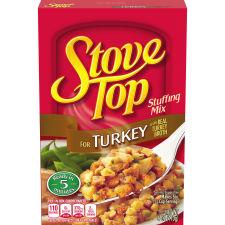 Stove Top Stuffing Mix Turkey, 6 oz Box