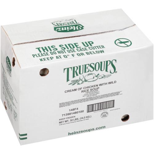 HEINZ TRUESOUPS Cream of Chicken Soup with Wild Rice, 8 lb. Bag (Pack of 4)