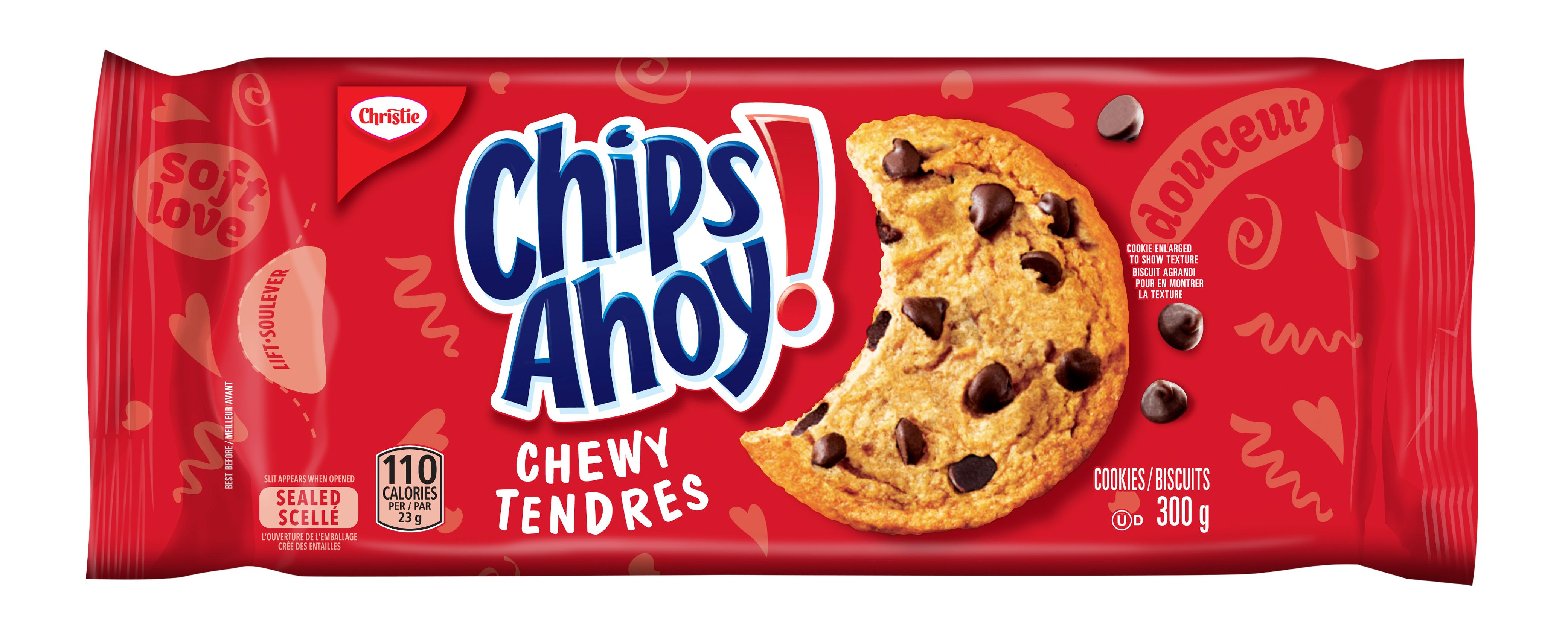 CHIPS AHOY!  TENDRES 300 GRM