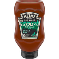 Heinz Carolina Vinegar Style Tangy BBQ Sauce 18.6 oz Bottle