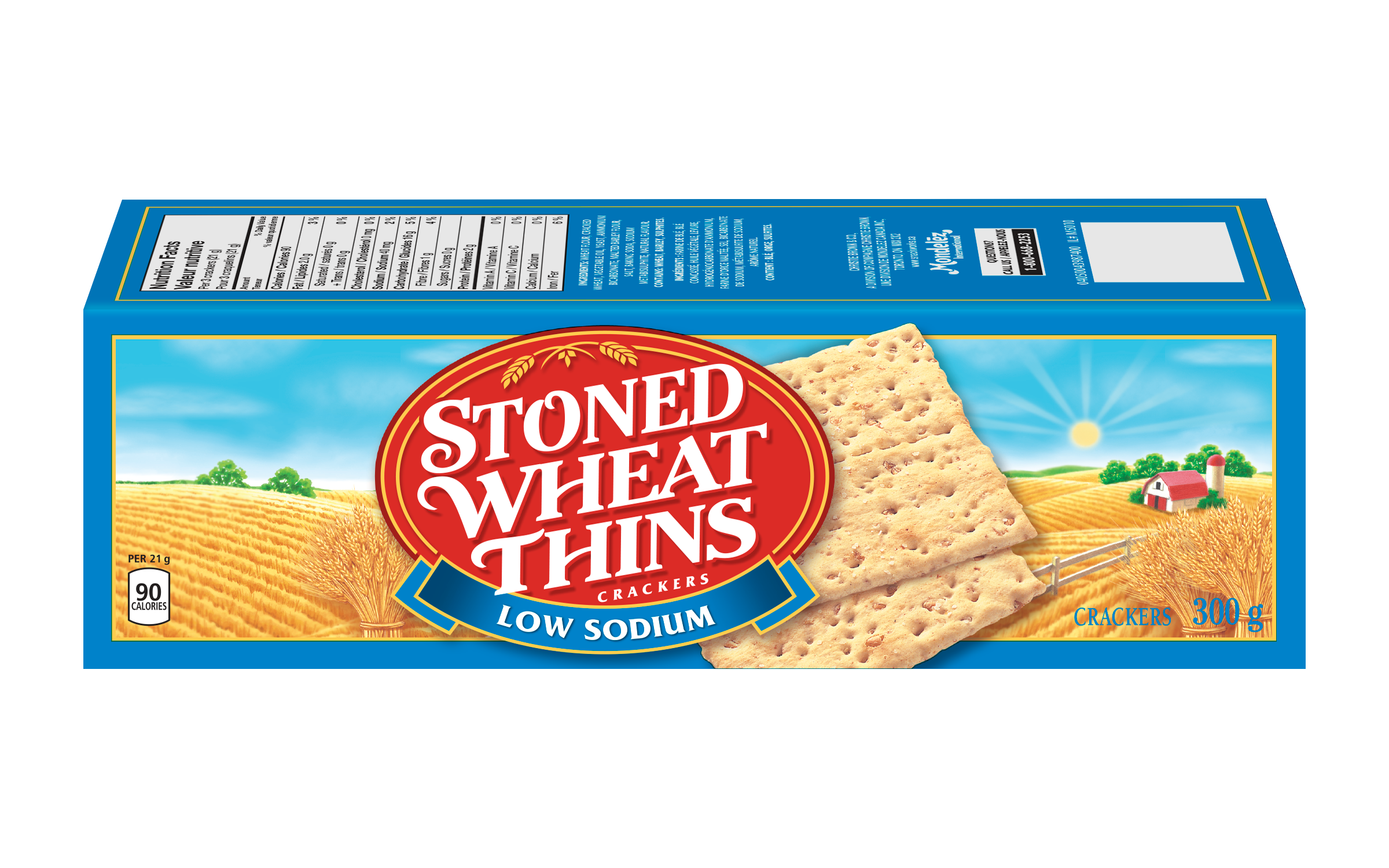 Wheat Thins Crackers Low Sodium 300 G