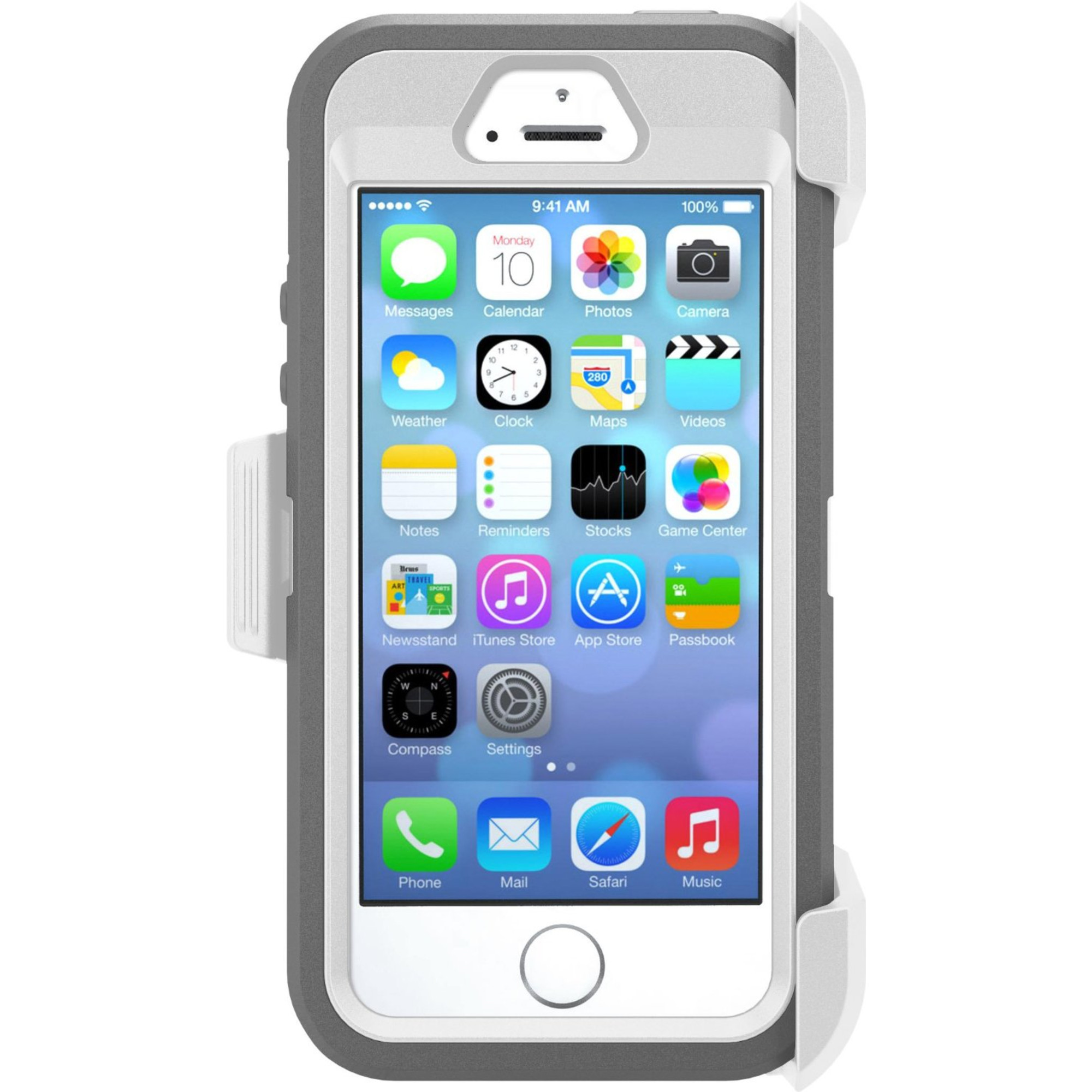otterbox defender series case for apple iphone 5 5s. Black Bedroom Furniture Sets. Home Design Ideas