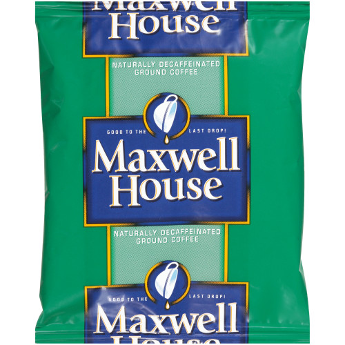 MAXWELL HOUSE Roast & Ground Decaffeinated Coffee, 1.10 Packets (42 Count)