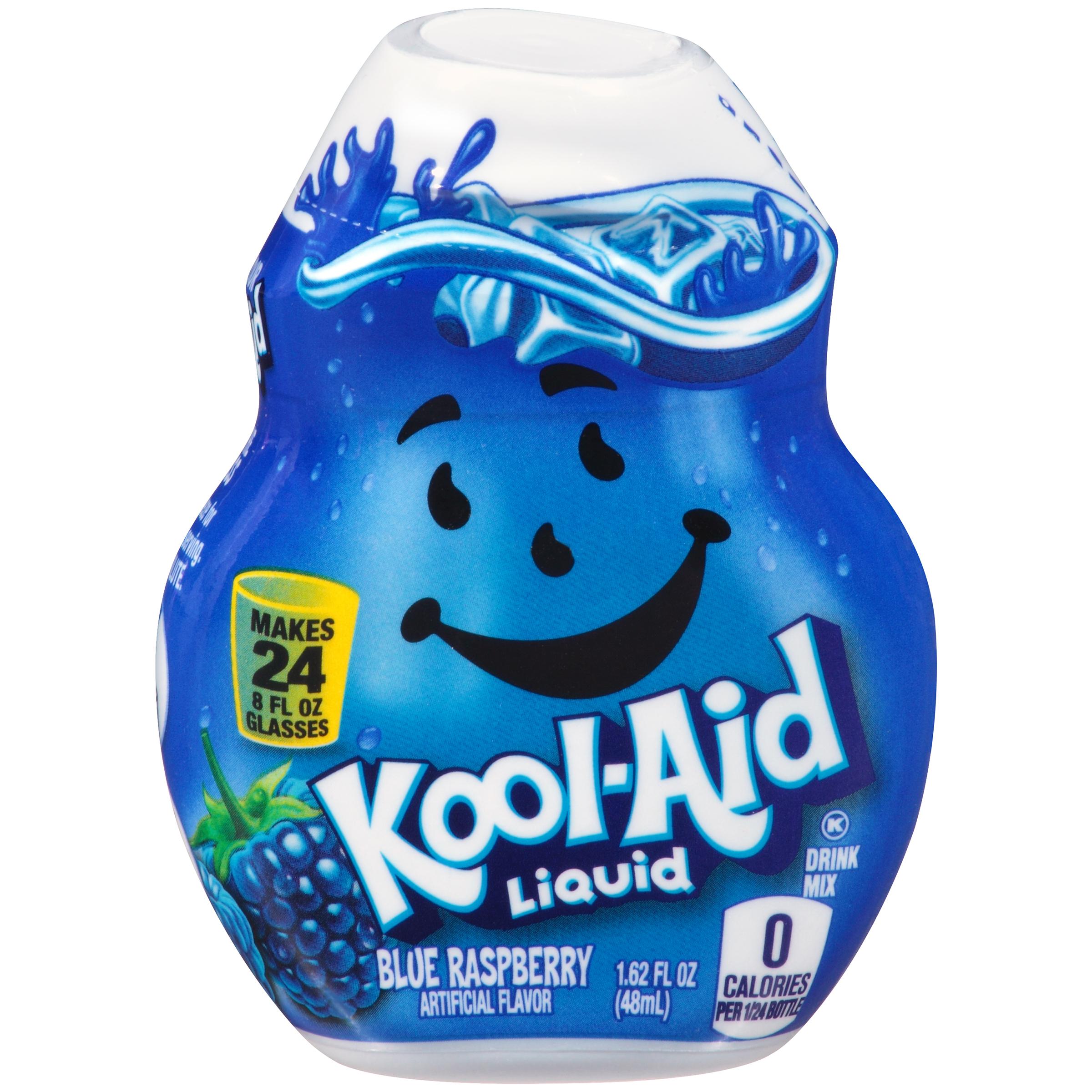 KOOL-AID Blue Raspberry Liquid Drink Mix 1.62 fl oz Bottle image