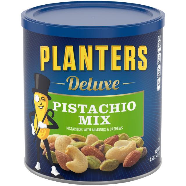 PLANTERS Deluxe Pistachio Mix 14.5 oz Can