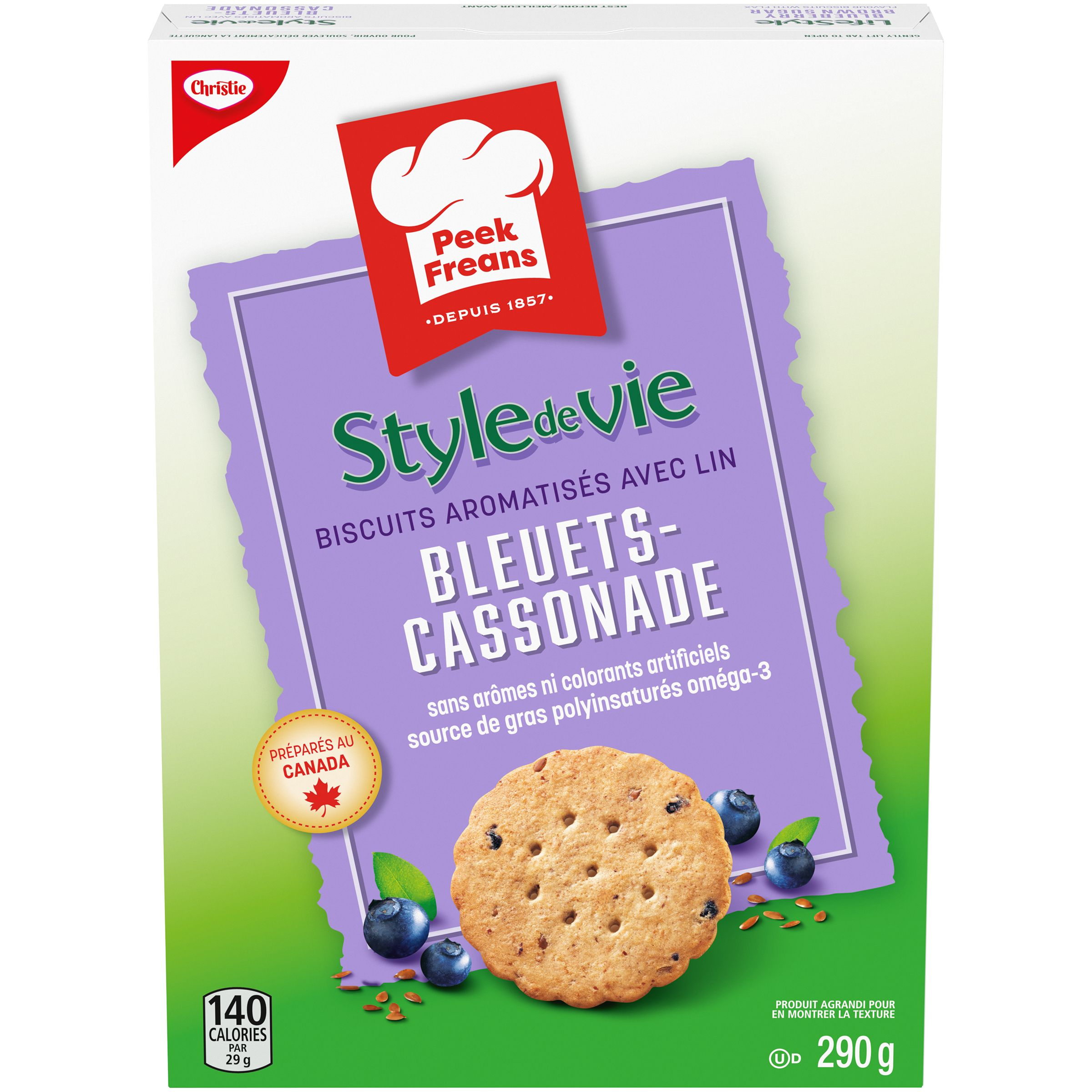 Peek Freans Lifestyle Selections Blueberry Brown Sugar Biscuit 290 G