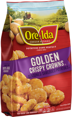 GOLDEN CRISPY CROWNS
