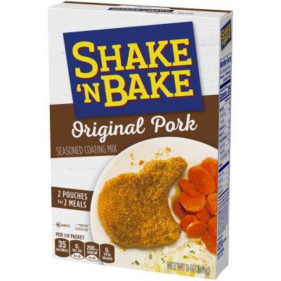 Kraft Shake 'n Bake Original Pork Seasoned Coating Mix 5 oz Box